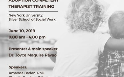June 10th, 2019 Adoption Therapy Training